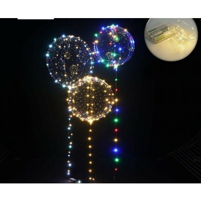 crystal led palloncini