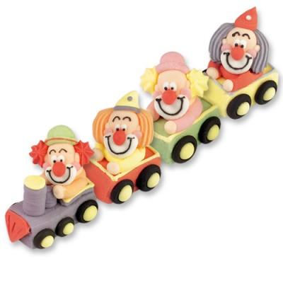 Clown di Zucchero sul Treno Pz.1