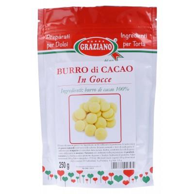 Burro di Cacao in gocce 250g