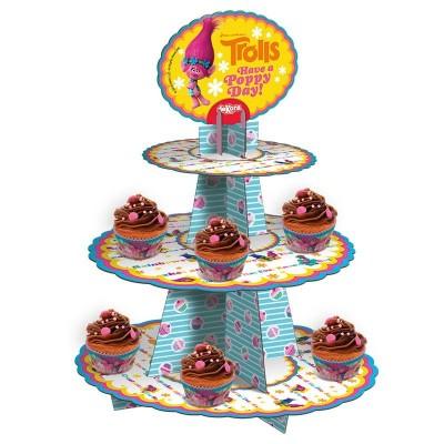 alzata per cupcake trolls