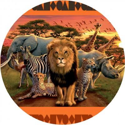 animali cialda torta savana