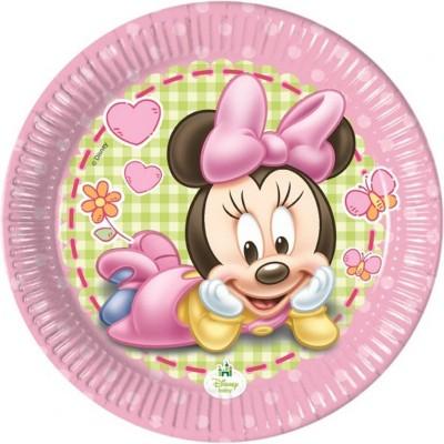Baby minnie piatti piccoli