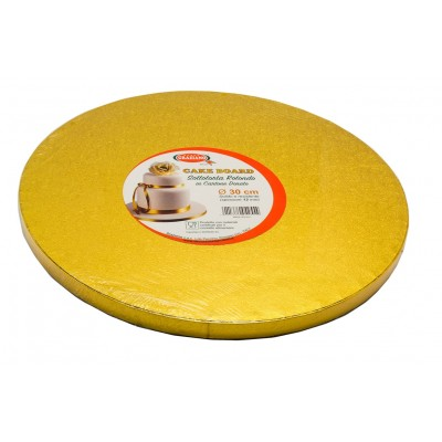base oro rotonda torta