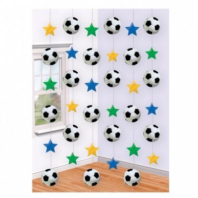 decorazioni pendenti calcio