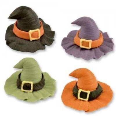 cappelli da strega in zucchero
