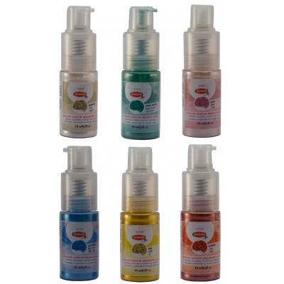 coloranti alimentari glitter spray graziano