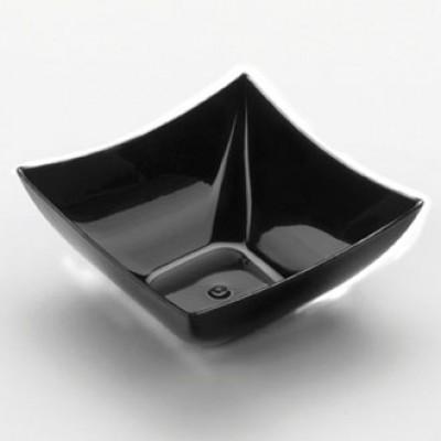 coppetta quadrata nera