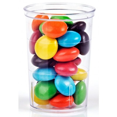 Bicchierino finger food tondo per antipasti modello slim