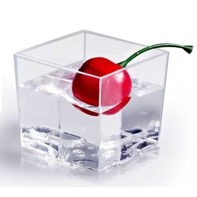 Coppetta per finger food a forma di cubo
