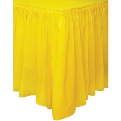 Girotavola colore giallo