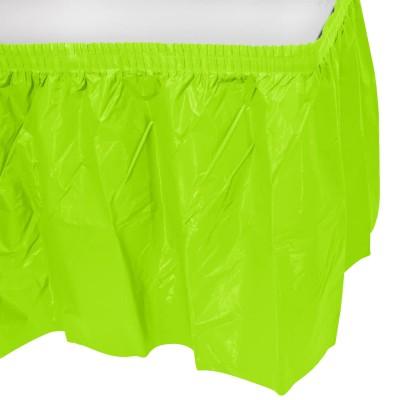 Girotavola colore verde acido