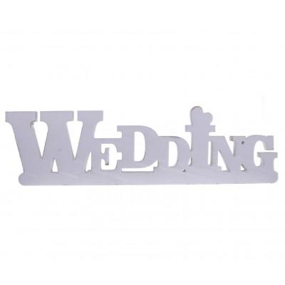 shabby wedding in legno