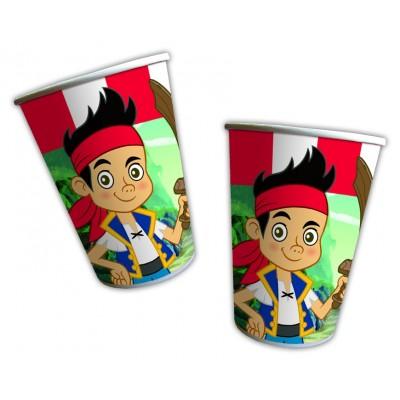 Jack e i Pirati bicchieri