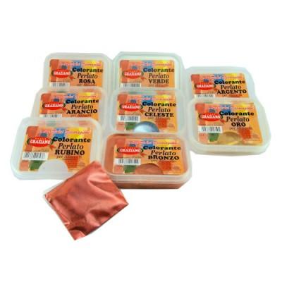 Coloranti alimentari in polvere perlati