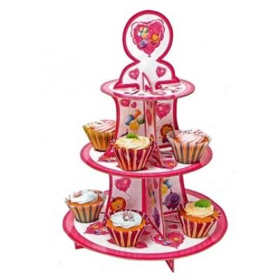 cupcake stand baby girl