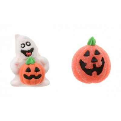 zucche e fantasmi decorazioni gel
