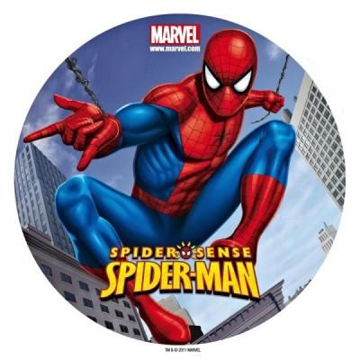 spiderman cialda per torta