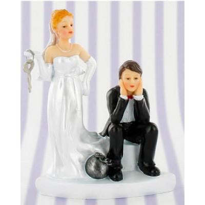 sposi torta catena