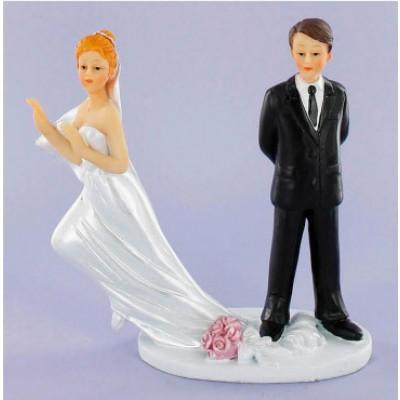 sposi torta sposa fuggitiva