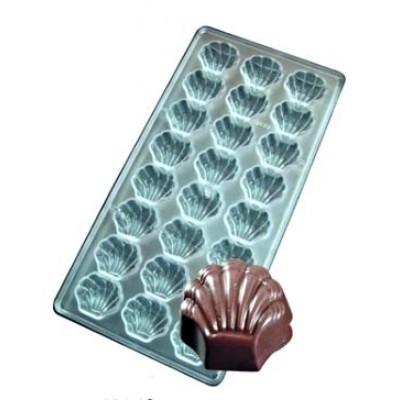 stampo cioccolatini conchiglie 24