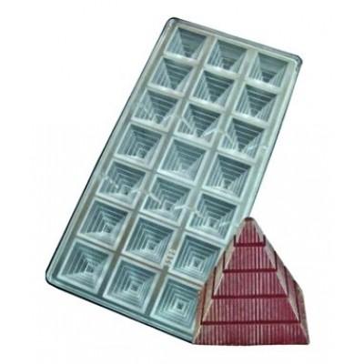 stampo cioccolatini piramide
