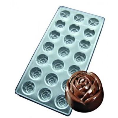 stampo cioccolato rose