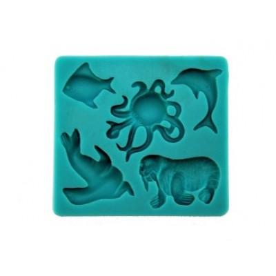 stampo silicone animali marini