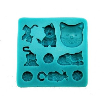 stampo silicone gatto