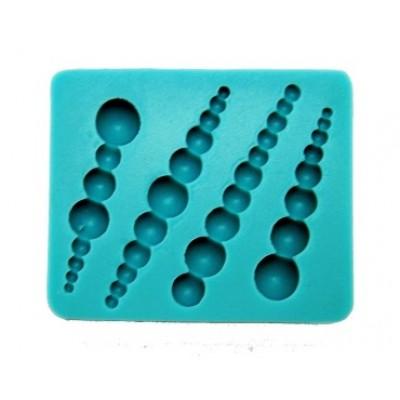 stampo silicone perle quadrato
