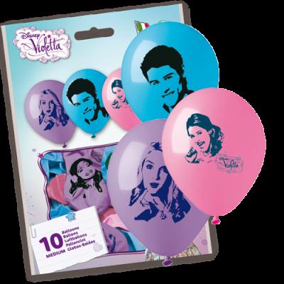 violetta palloncini png