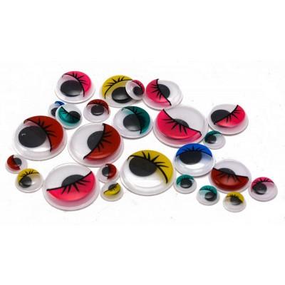Occhietti adesivi colorati