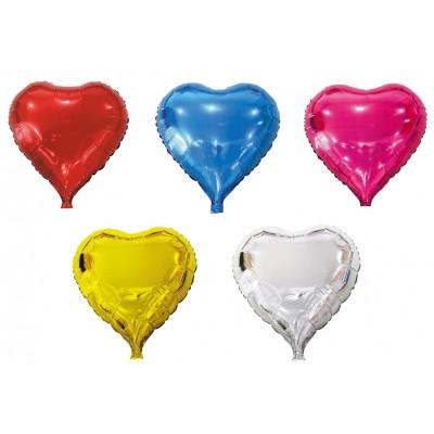 Palloncino elio a forma di cuore