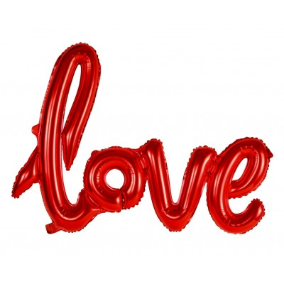Palloncino scritta love