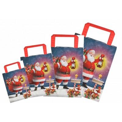 Sacchetto natalizio in carta