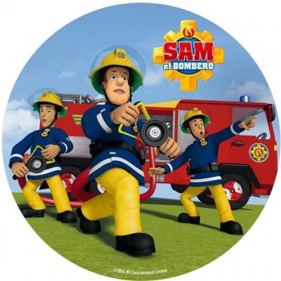 Sam il pompiere cialda torta