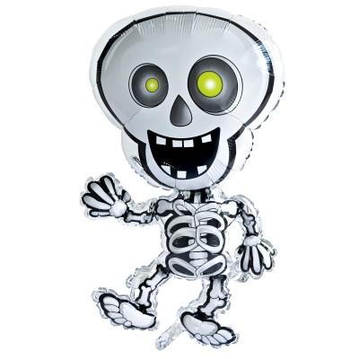 Palloncino scheletro halloween