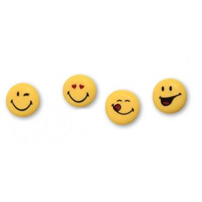 Smileys in Zucchero