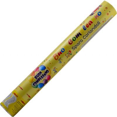 spara coriandoli buon compleanno 40 centimetri