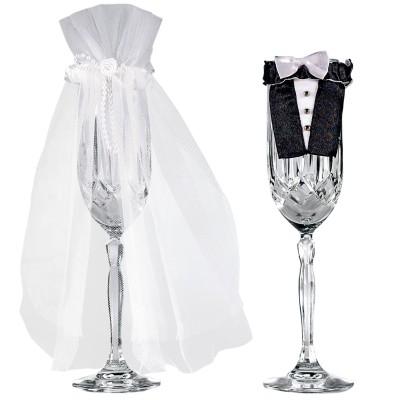 sposi bicchiere