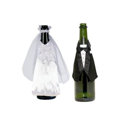 sposi vestito bottiglia