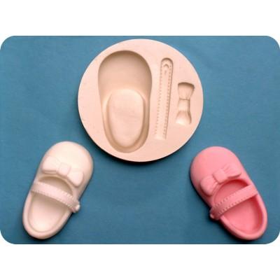 stampo in silicone per scarpetta bimbo