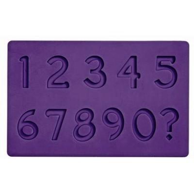 stampo silicone numeri