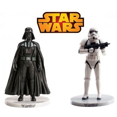 Star wars statuine per decorare la torta