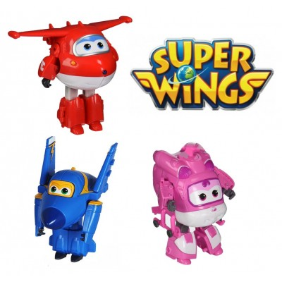 Super Wings statuine per torta