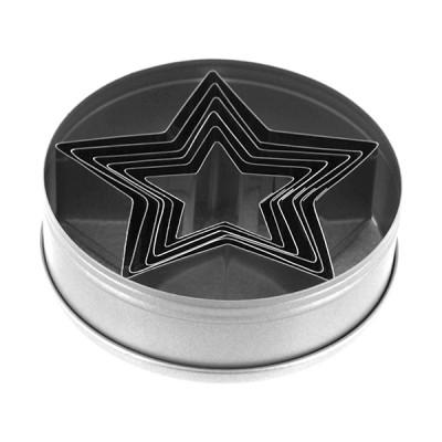 tagliapasta acciaio stella set