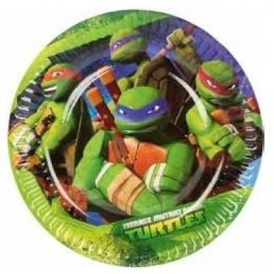 tartarughe ninja piatto piccolo