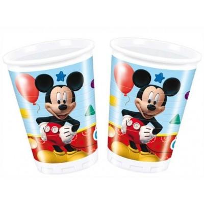 topolino bicchieri di plastica