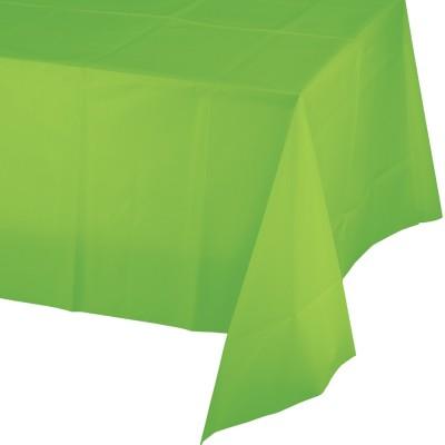 Tovaglie verde acido in plastica