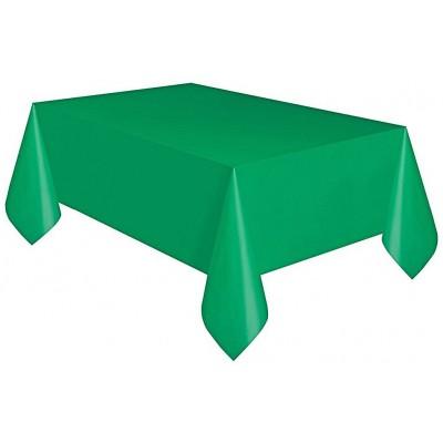 Tovaglie verde in plastica