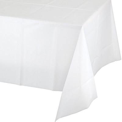 Tovaglie plastificate bianco